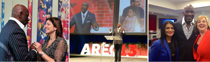 Chris Gardner visits Australia