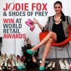 Jodie Fox & Shoes of Prey WIN at World Retail Awards