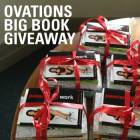 Ovations Big Book Giveaway