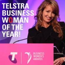 Liesl Capper - Telstra Business Woman of the year!