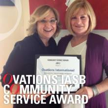 Ovations IASB Community Service Award