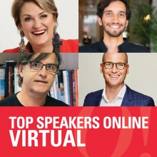 Top speakers working in the virtual space