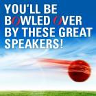 You'll be bowled over by these great speakers!