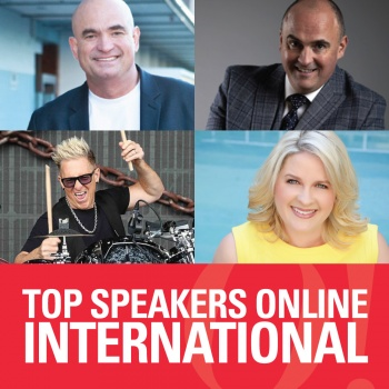 International Speakers traveling virtually