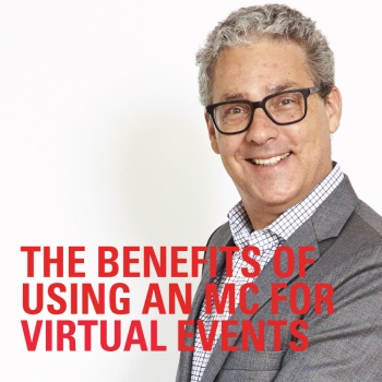 The benefits of using an MC for virtual events