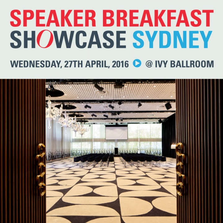 Sydney Breakfast Speaker Showcase 2016