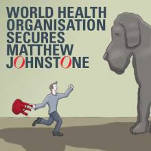 World Health Organisation secures Matthew Johnstone