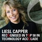 Liesl Capper recognised in Top 50 in Technology accolade